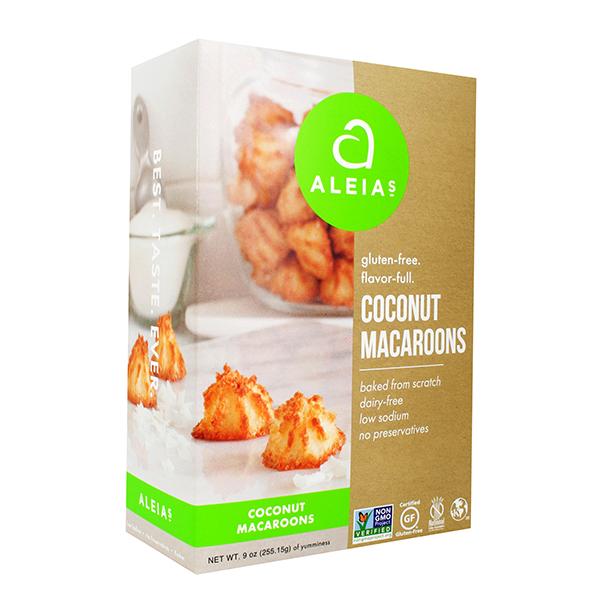 Coconut Macaroons Cookies Aleia S Gluten Free Foods